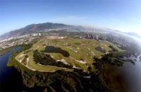 Luftaufnahme vom Olympia Golfcourse Rio de Janeiro