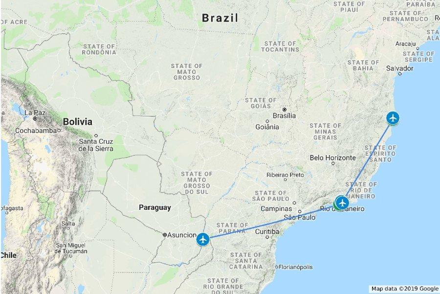 Kleine Golf Rundreise in Brasilien mit Foz bdo Iguassu, Rio de Janeiro und Trancoso