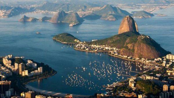 Rio mit Zuckerhut, Flamengo Strand und Bucht