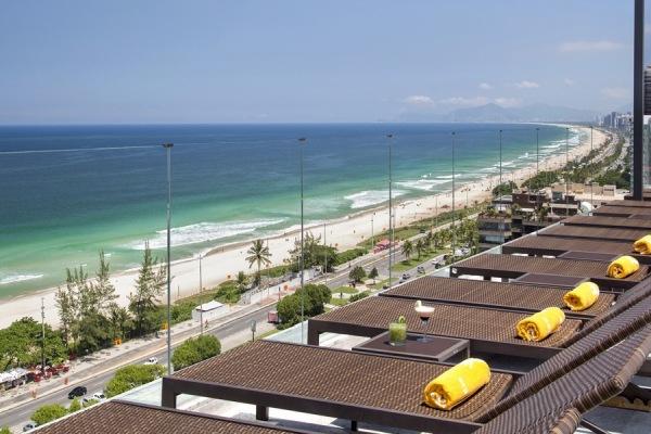 Golfpaket Rio mit herrlichen Ausblick vom Hotel Oceanico in Barra de Tijucas Windsor Ocenico in Barra