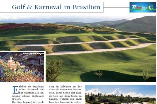 Golf und Karneval in Brasilien 2007-03