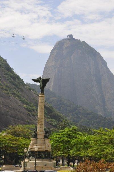 Der Zuckerhut ist ein sehr beliebtes Fotomotiv in Rio de Janeiro