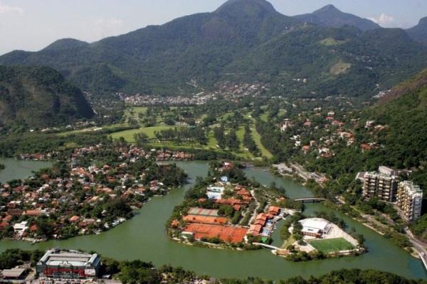 der Itanhanga Golfclub hat 27 Löcher und eine grosse Drivingrange
