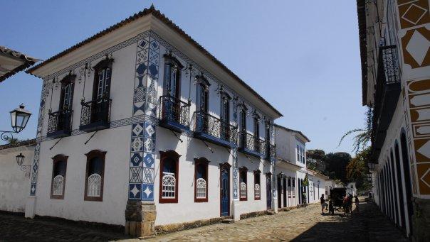 Die Kolonialstadt Paraty steht seit 1958 unter Denkmalschutz.