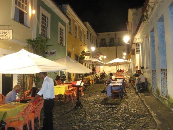 Das Nachtleben im Zentrum von Salvador da Bahia