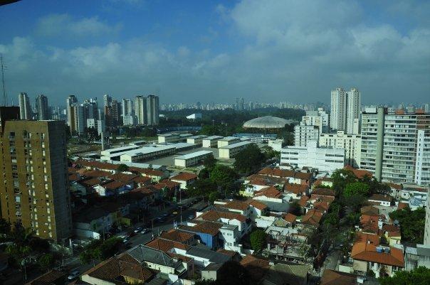 Der Stadtflughafen Congonhas liegt im Zentrum von Sao Paulo