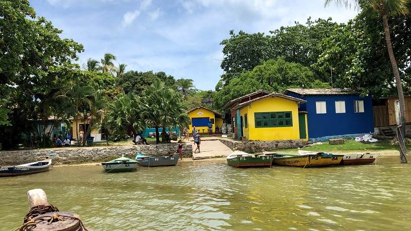 Überfahrt zur Halbinsel Caraiva