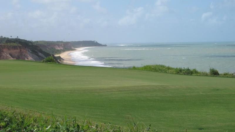 SIcht vom Terravista Golfplatz auf den Strand