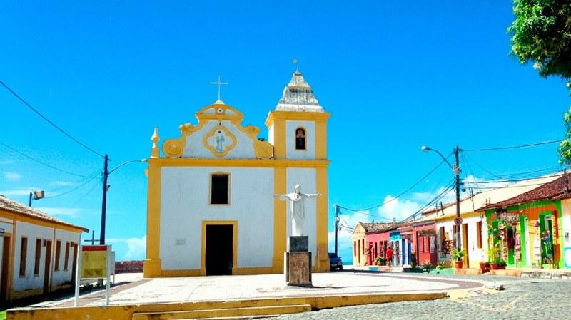 Kirche Igreja Nossa Senhora d'Ajuda aus dem Jahre 1549