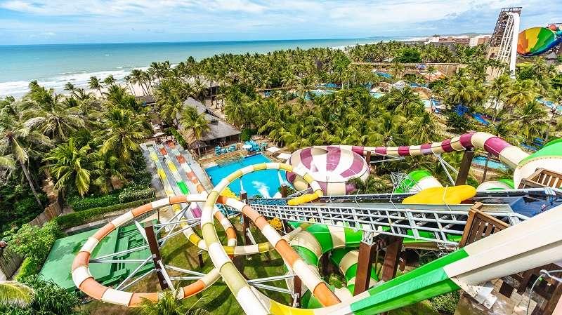 Beachpark Anlage bei Aquiraz, nahe Fortaleza