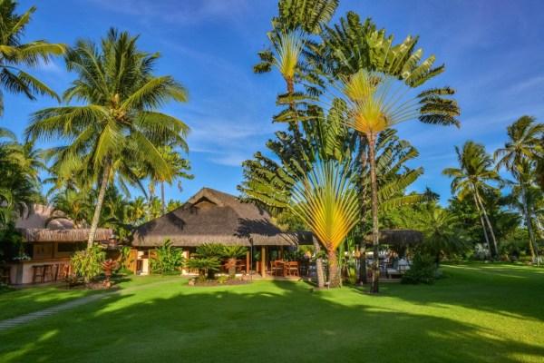 Garten vom Strandhotel Villa de Trancoso