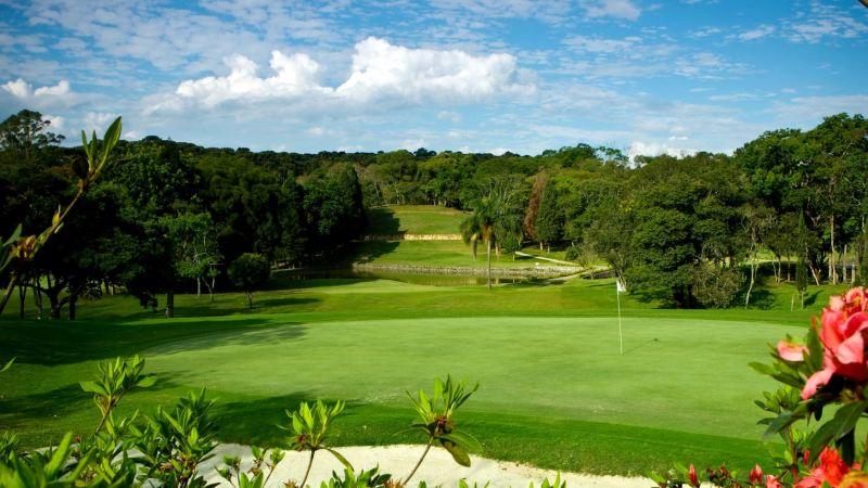 Aruja Golfclub nahe des Flughafen Guarulhos-Sao Paulo