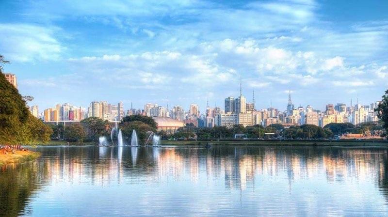 Der Ipirapuera-Park eine Oase mitten in Sao Paulo