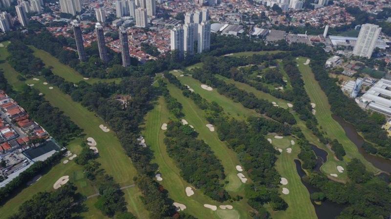 Sao PAulo Golfclub nahe dem Zentrum